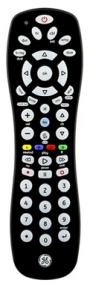 4 digit codes for TV sets (V3/V5/CL3/CL4/CL5) - GE universal